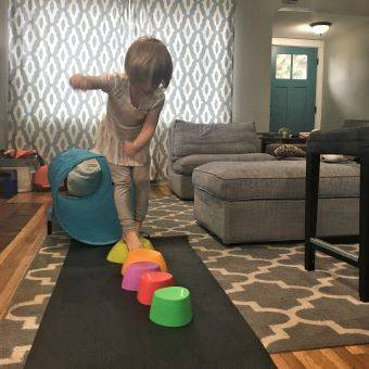Working Out from Home with Kids