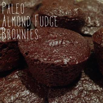Paleo Almond Fudge Brownies
